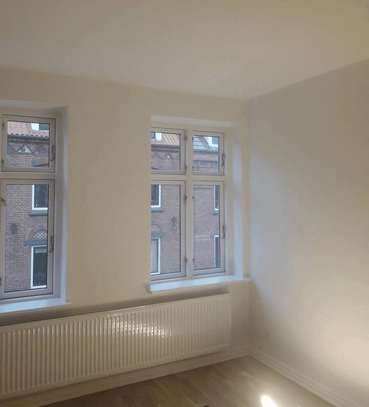 HCA maling af lejlighed på 55 m2